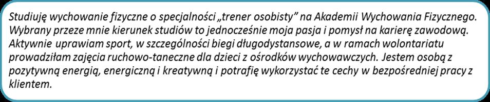 description for cv